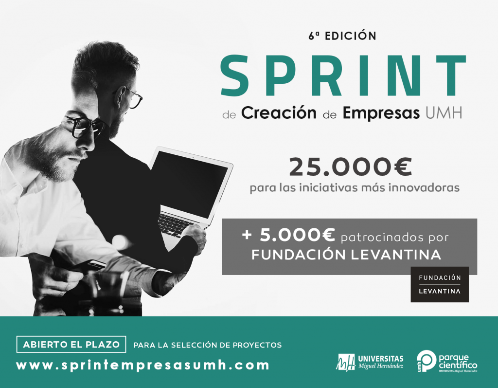 Innova con Grupo Levantina y consigue 5.000 euros para lanzar tu start-up