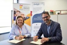 COAMBCV and FUMH sign a collaboration agreement for language learning (in Spanish)